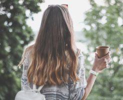 美しい髪の方です